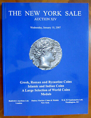 2007 Auction Catalog Greek Roman Byzantine Islamic Indian Coins Medals
