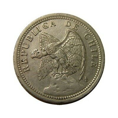 elf Chile 1 Peso 1933 Condor