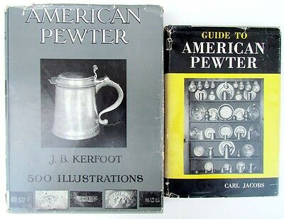 Pair Of Reference Books On American Pewter