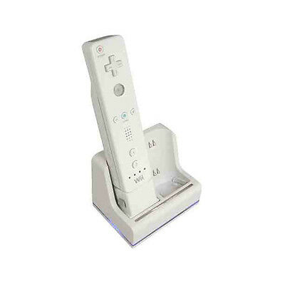 Nintendo Wii MotionPlus Twin Dual Charge Charger Remote Station Dock Stand