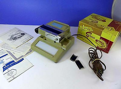 LUTES Precision Stereo Realist FILM CUTTER - cut a roll in seconds!