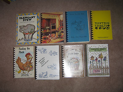 Lot of 37 Fundraiser Church Community Collection of Cook Books Cookbooks Variety