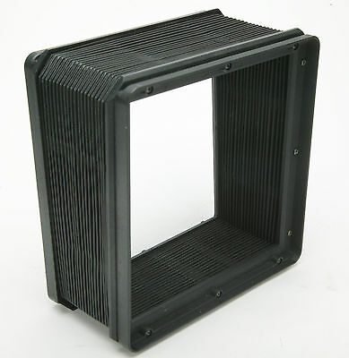 """Toyo-View 4x5"""" Camera Regular Square Bellows. Plate Size 158x158mm."""