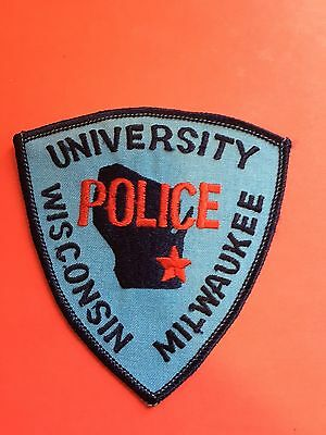 University Of Milwaukee Wisconsin  Police  Shoulder Patch
