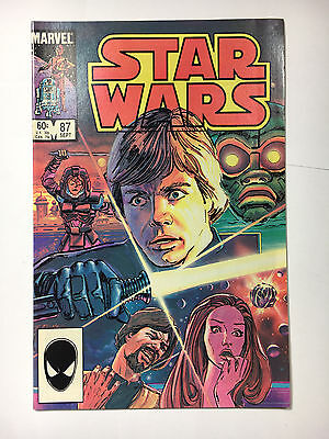 Star Wars #87  VF+ Marvel comic 1984 Painted cover