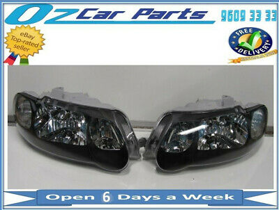 HOLDEN COMMODORE VX VU SS HEADLIGHTS NEW LEFT and RIGHT SIDE PAIR TEAR DROP new