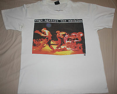 Very rare vintage early official Rage Against The Machine shirt 1992 vtg RATM