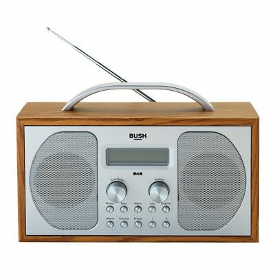 Bush Wooden DAB Radio - Free 90 Day Guarantee