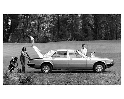 1975 Maserati Quattroporte II ORIGINAL Factory Photo ouc4977