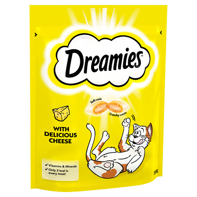 Dreamies Cat Treats Mega Pack 180g Multi - Of Each Flavour