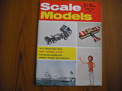 Scale Models Magazine - April 1972