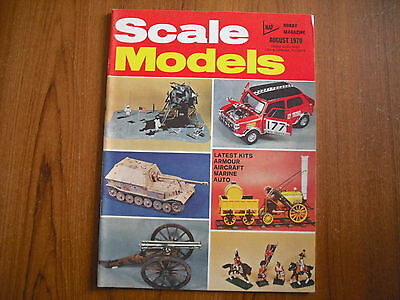 Scale Models Magazine - August 1970