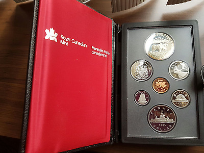 1985 Canada Double Dollar Proof Set - 7 Coin