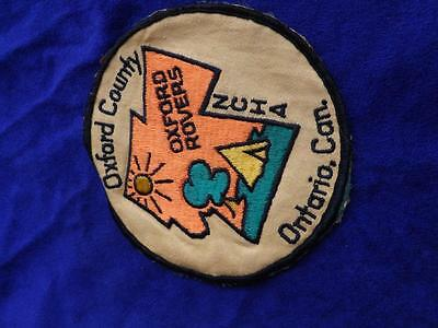 Ncha Oxford County Rovers Ontario Canada Vintage Patch Fabric  Badge Collector