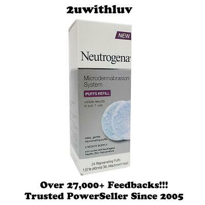 Neutrogena Microdermabrasion System Puff Refills 24 Count *Free Express Post!*