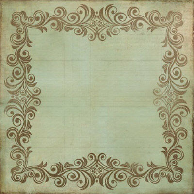 """*A&B* KAISERCRAFT 12""""x12"""" Scrapbooking Specialty Paper Up, Up and Away PS108 Clo"""
