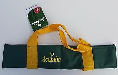 ACCLAIM Chatton Bowls Carrier Two Bowls Bowling Sling Green Ex Display Marked D