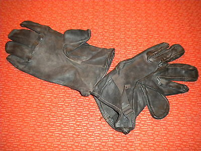 U.S.ARMY:GLOVES SHELLS LEATHER, M-1949 Vietnam Korea Special Forces Delta Force