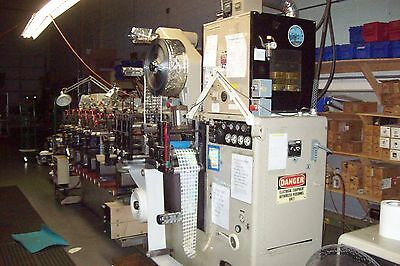 Webtron 750 Flexo Graphic Print Press 7 print station Roll to Roll or Sheet
