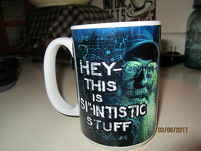 Duck Dynasty Coffee Mug Uncle Si Robertson 'HEY THIS IS 'SI'-INTISTIC STUFF'