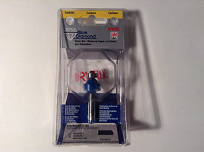 "Irwin 520503 Carbide 3/16"" Round Over Router Bit"