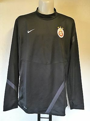 Galatasaray L/s Black Midlayer Top By Nike Adults Size Xxl Brand New With Tags