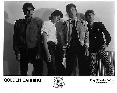 "Golden Earring 10"" x 8"" Photograph no 2"