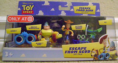 Toy Story Escape From Scud 5 Figures Woody Rc Slinky +