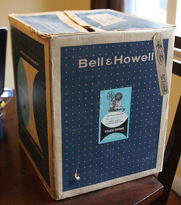 Vintage Bell & Howell Model 265Y 8Mm Movie Projector