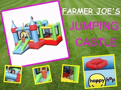 Happy Hop Farmer Joes Jumping Castle
