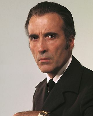 "Christopher Lee James Bond 007 10"" x 8"" Photograph no 15"