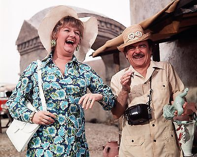 """Carry On Abroad Film Still 10"""" x 8"""" Photograph no 9"""