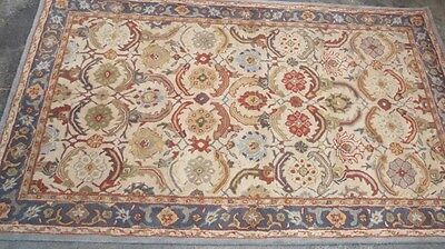 Pottery Barn Eva Persian Style Tufted Wool 5x8 Rug Authentic 299 99 Picclick