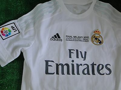 Real Madrid Home Shirt 2015-16  ** Special Edition ** Size Small  New