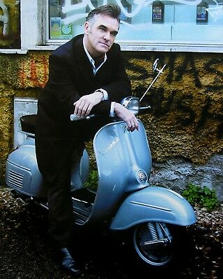 "MORRISSEY Scooter 10"" x 8"" Photograph no 1"