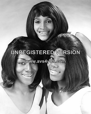 "The Ikettes / Tina Turner 10"" x 8"" Photograph no 3"