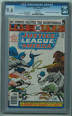 Justice League #132 Cgc 9.6 High Grade White Pages 1976