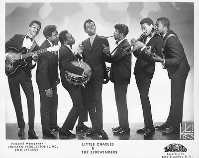 """Little Charles and the Sidewinders 10"""" x 8"""" Photograph no 1"""