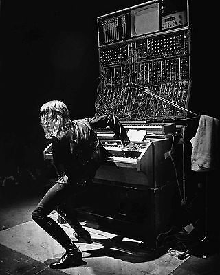 "Keith Emerson Lake and Palmer 10"" x 8"" Photograph no 6"