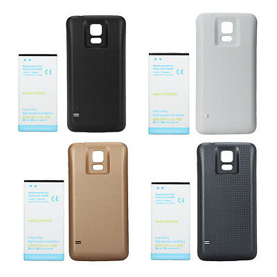 7000mAh Extended Backup Battery with Back Case Pack for Samsung Galaxy S5 i9600