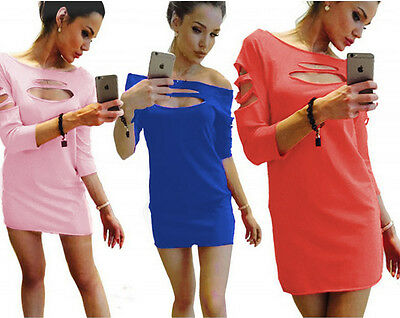 New Women Bandage Bodycon Short sleeve Evening Party Cocktail Short Mini Dress