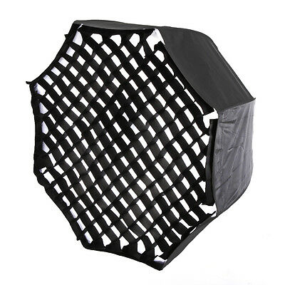 AU 80cm Octagon Umbrella Softbox + Honeycomb Grid For Photo Studio Flash Light