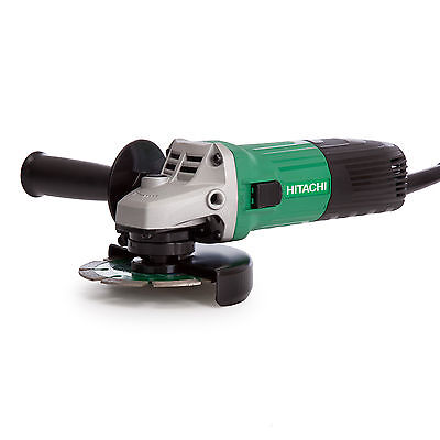 Hitachi G 12STX Angle Grinder 115mm 600W with Diamond Blade and Carry Case 240V