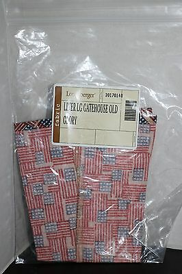 Longaberger - Large Gatehouse Basket Liner in Old Glory #20170140 NEW