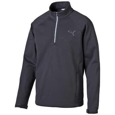 Puma Golf Warm Storm 1/2 ZIP POPOVER Sweater Pullunder Pullover Storm Cell grau