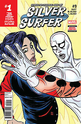 SILVER SURFER #9 NOW (MARVEL 2017 1st Print) COMIC