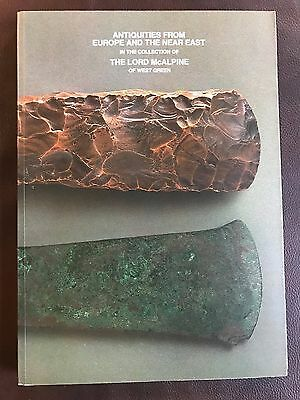 """""""Antiquities From Europe And The Near East"""" BOOK- DANISH CELT AXE GOUGE ARTIFACT"""