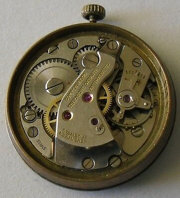 FHF 28 Movement Good Balance Repair Parts Vintage 1950 Majex Dial Reparar Piezas