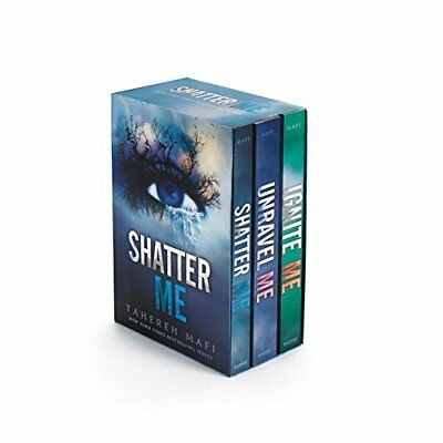 Shatter Me: Shatter Me Series Box Set: Shatter Me, Unravel Me, and Ignite Me-Tah