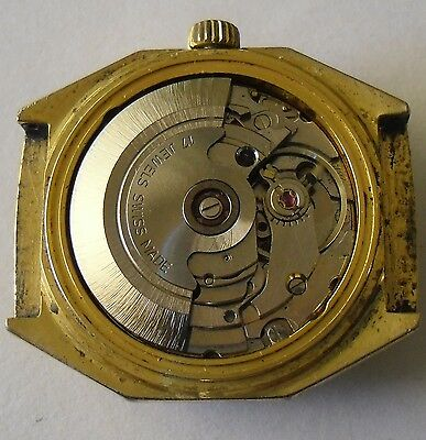 ETA 2879 Movement Working Thermidor Dial Crown Hands ETA 2879 Funciona